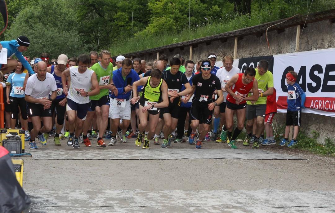 Start Hauptlauf,180 Teilnehmer