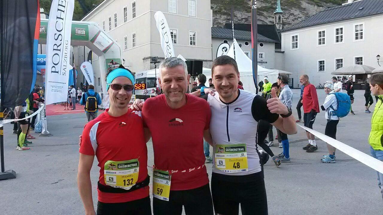 Michael Wieser, Toni Wimmer und Bernhard Rausch
